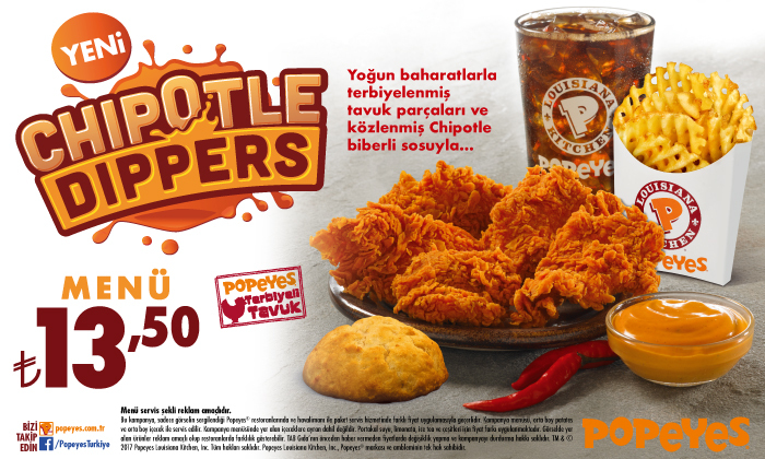Popeyes - Chipotle Dippers