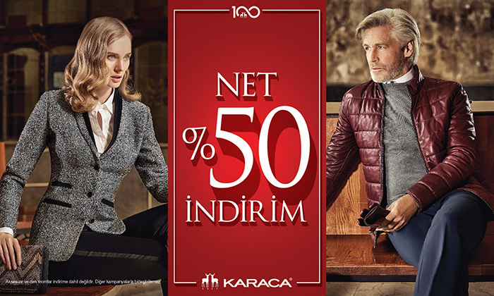 Karaca - Net %50 İndirim