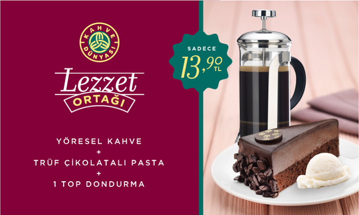 Kahve Dünyası - Lezzet Durağı
