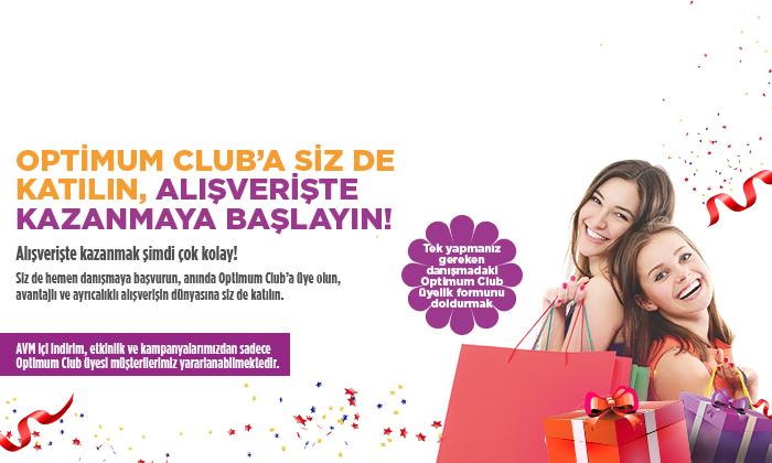 Optimum Club'a Siz de Katılın, Alışverişte Kazanmaya Başlayın