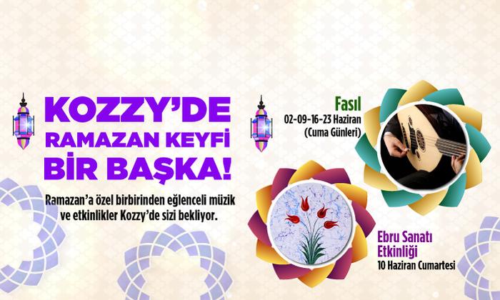 Kozzy'de Ramazan keyfi bir başkaa