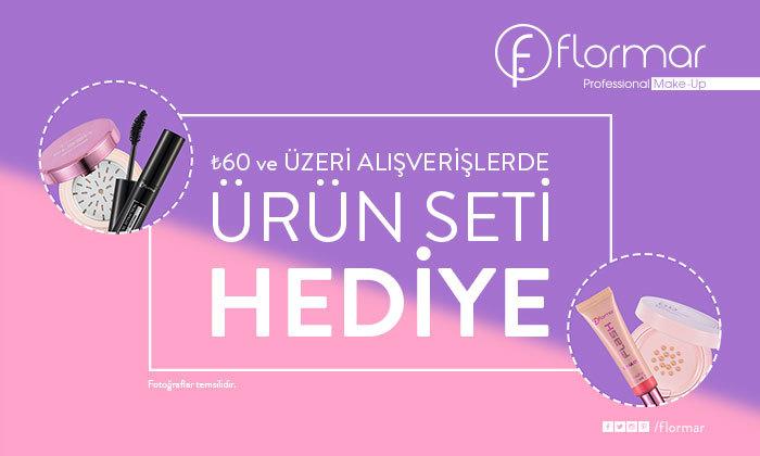Flormar - 60 TL ve üzeri alışverişlerde ürün seti hediye