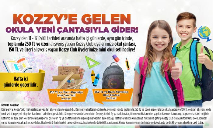 Kozzy'e Gelen Okula Yeni Çantasıyla Gider!
