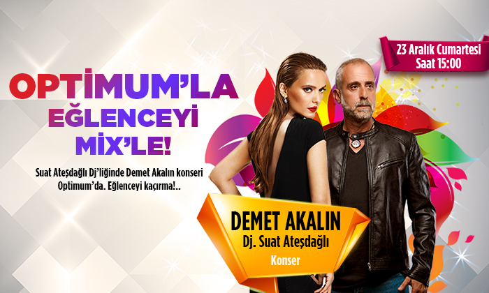 Optimum'la Eğlenceyi Mix'le!