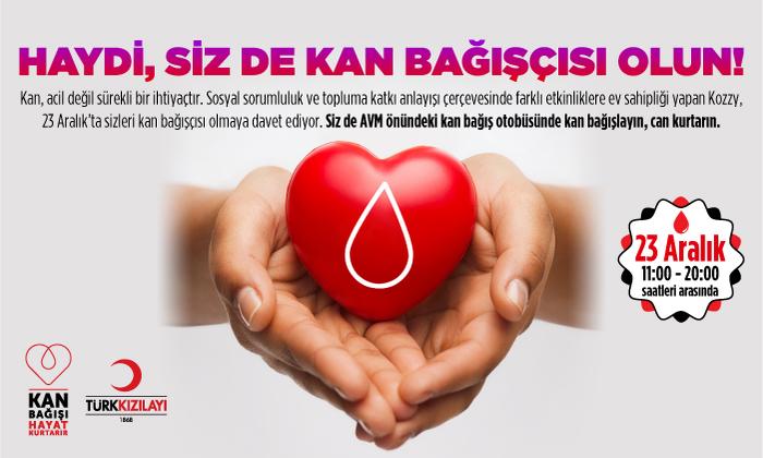Haydi Sizde Kan Bağışçısı Olun!