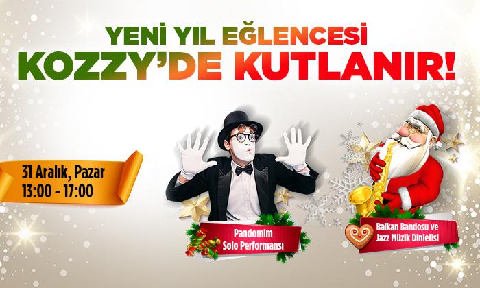 Yeni Yıl Eğlencesi Kozzy'de Kutlanır